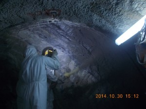 shotcrete application